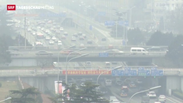 Video «Smog-Alarm in China» abspielen