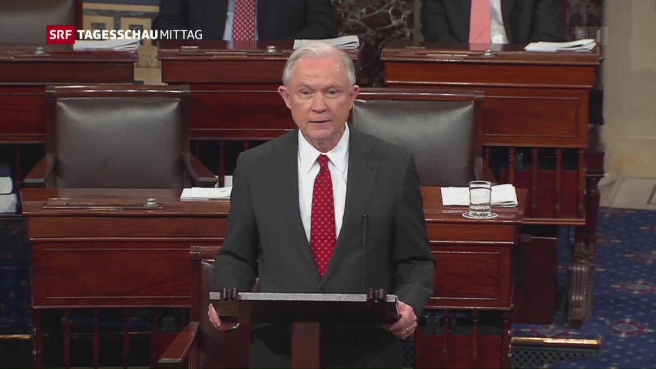 Jeff Sessions wird US-Justizminister