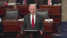 Video «Jeff Sessions wird US-Justizminister» abspielen