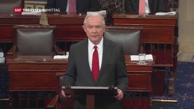 Video «Jeff Sessions wird US-Justizminister» abspielen