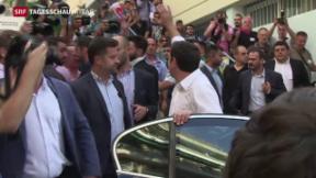Video «Griechenland wählt» abspielen