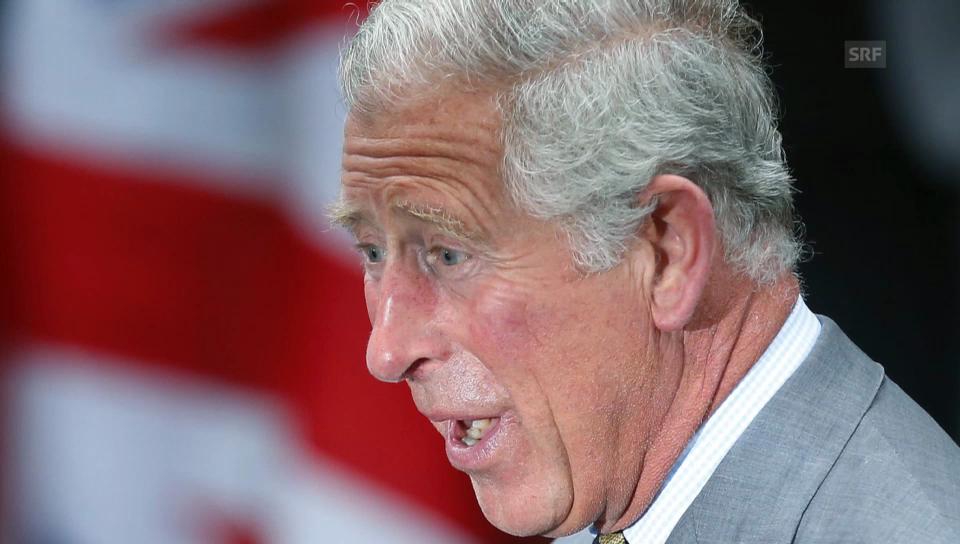 Prinz Charles rezitiert Dylan Thomas (nur Audio)