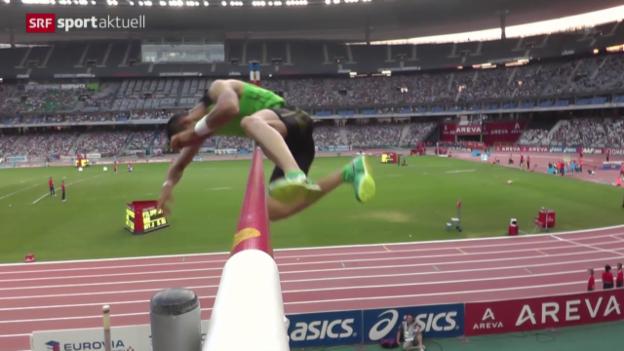 Video «Leichtathletik: Internationale Highlights in Paris» abspielen