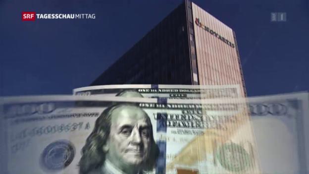 Video «Novartis mit Umsatzrückgang» abspielen