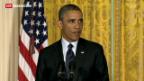Video «Obama dreifach unter Druck» abspielen