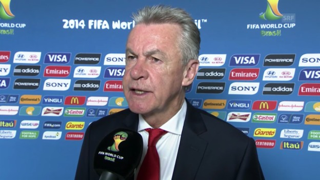 Video «Interview mit Nati-Trainer Hitzfeld» abspielen