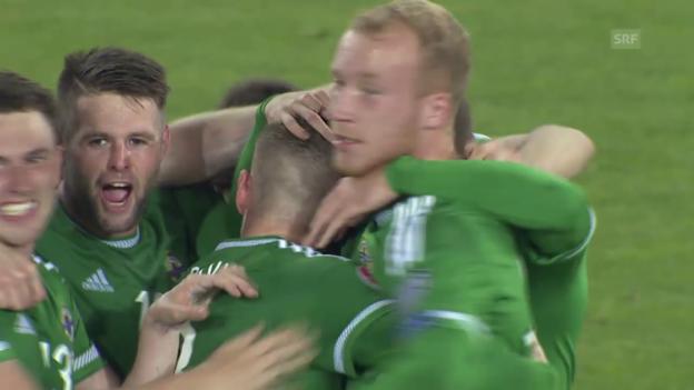 Video «Fussball: EM-Qualifikation, Nordirland-Griechenland» abspielen