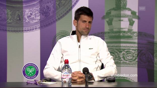 Video «Djokovic über Mannarino (engl.)» abspielen