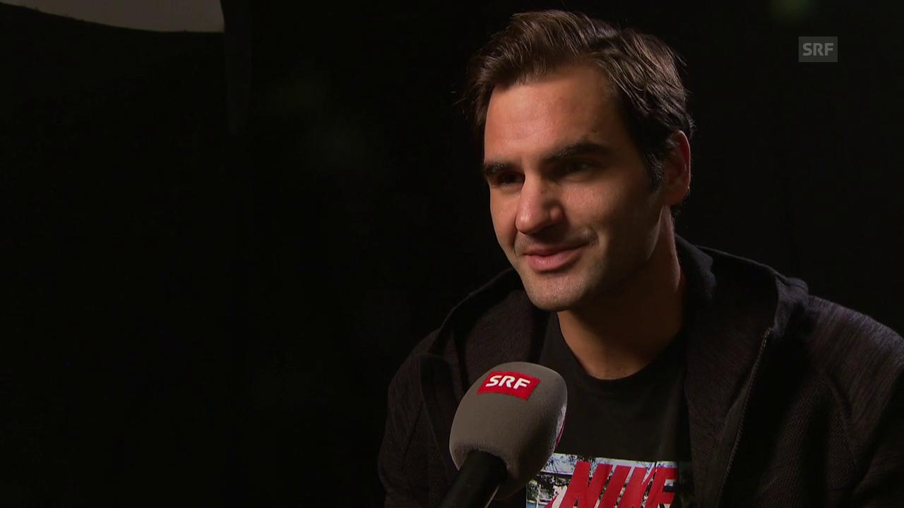 Federer: «Ich liebe es, hier zu spielen»