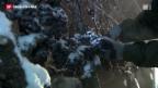 Video «Eisige Kälte sorgt für edelsüssen Wein» abspielen