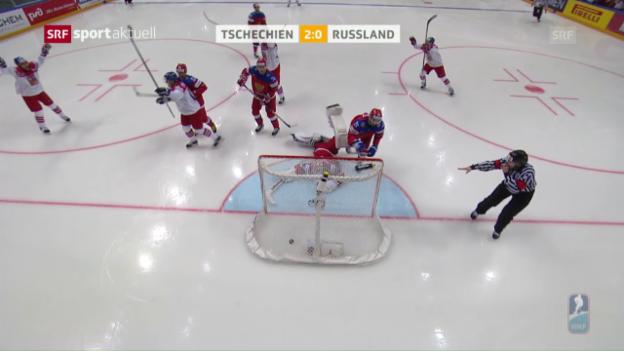 Video «Kalte tschechische Dusche für Russland» abspielen
