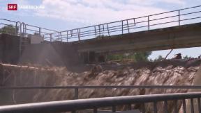 Video «Die Massnahmen nach dem Jahrhunderthochwasser greifen» abspielen