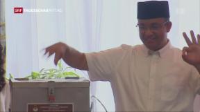 Video «Jakarta wählt neuen Gouverneur» abspielen
