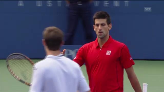 Tennis: US Open, Djokovic - Granollers