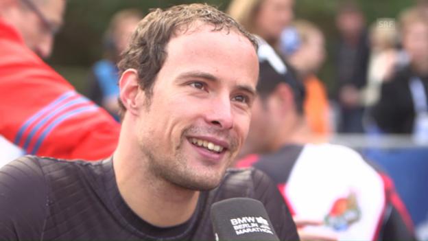 Video «Marcel Hug: «Die Saison läuft super»» abspielen