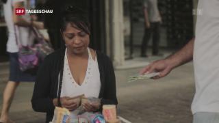 Video «Bargeld ist in Venezuela ein knappes Gut » abspielen