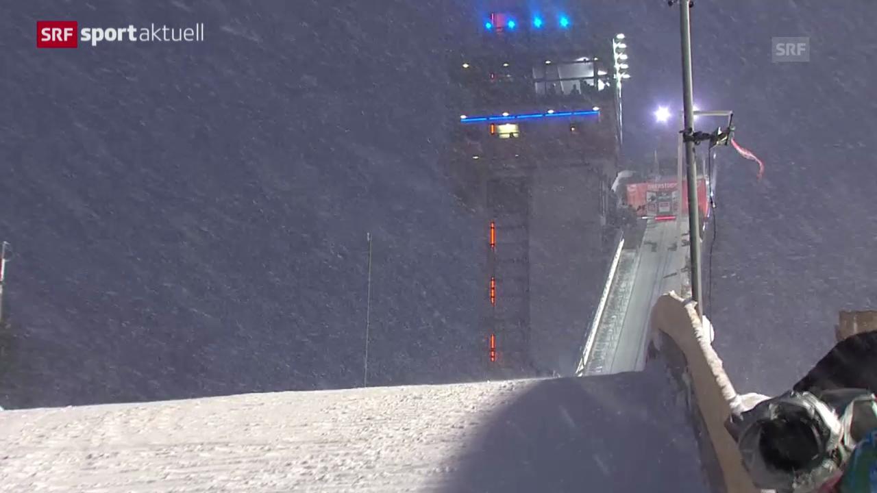 Skispringen: Vierschanzentournee, Oberstdorf - SPAK-Beitrag