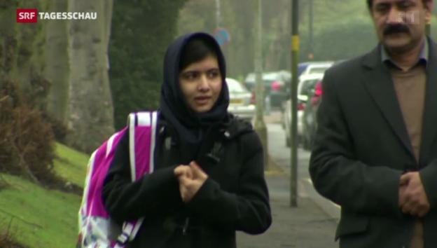 Video «Portrait Malala» abspielen