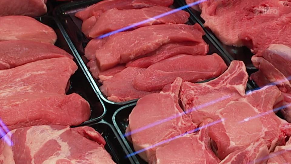 Antibiotika im Fleisch