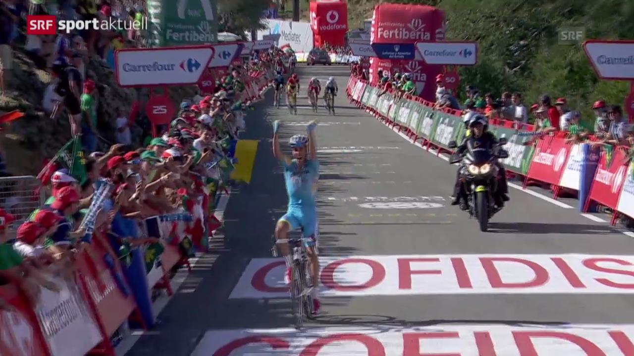 Rad: 11. Etappe der Vuelta