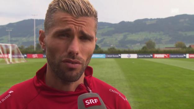 Video «Fussball: Interview mit Valon Behrami» abspielen