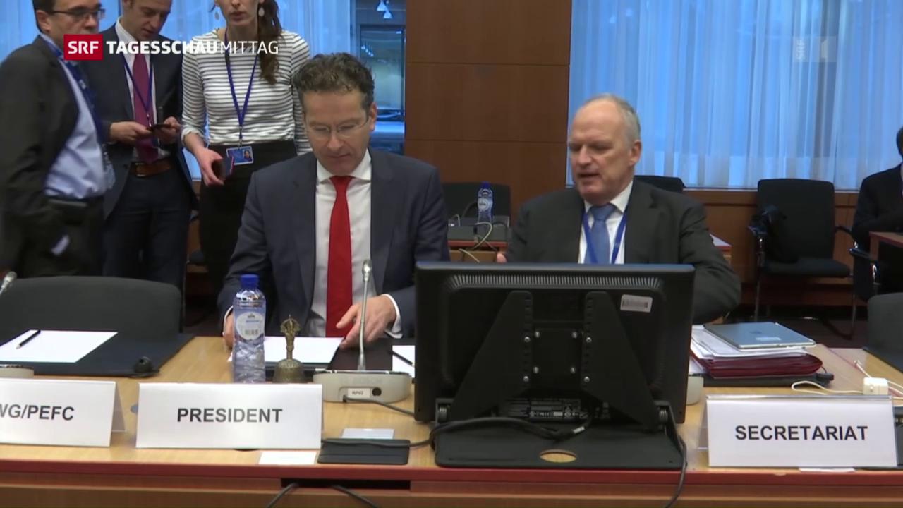 EU-Finanzminister geben sich gelassen