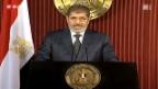 Video «Mursi ruft zur Geschlossenheit auf» abspielen