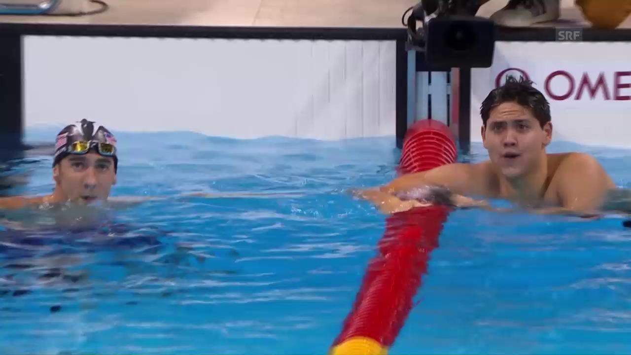 Die Entscheidungen im Schwimmbecken