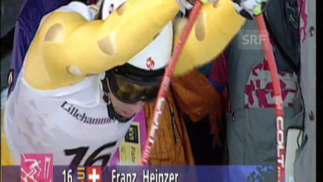 1994: Schnelles Aus für Franz Heinzer