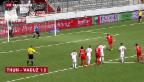 Video «FC Thun besiegt FC Vaduz» abspielen