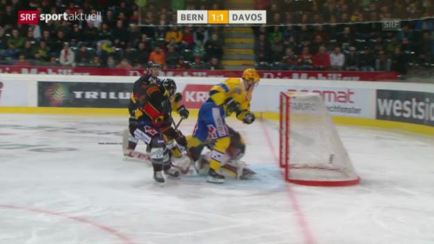 Video «Eishockey: NLA, SC Bern - HC Davos» abspielen