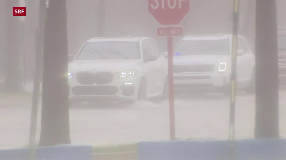 Hurrikan «Elsa» entlädt sich an Floridas Küste