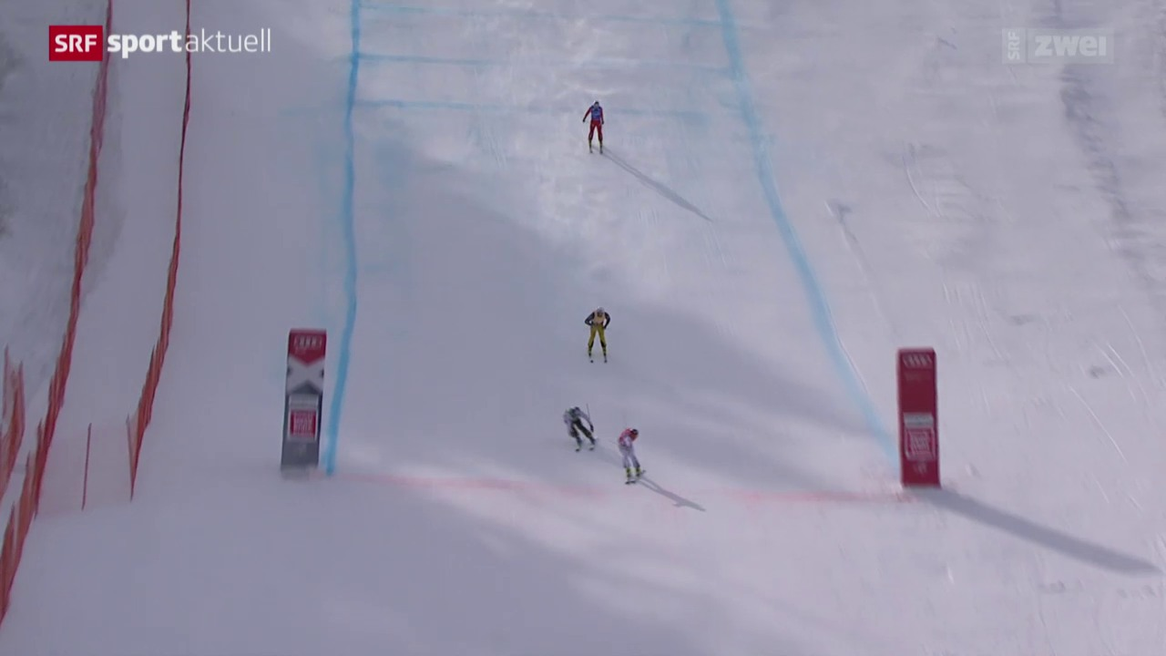 Skicross: Weltcup in Megève