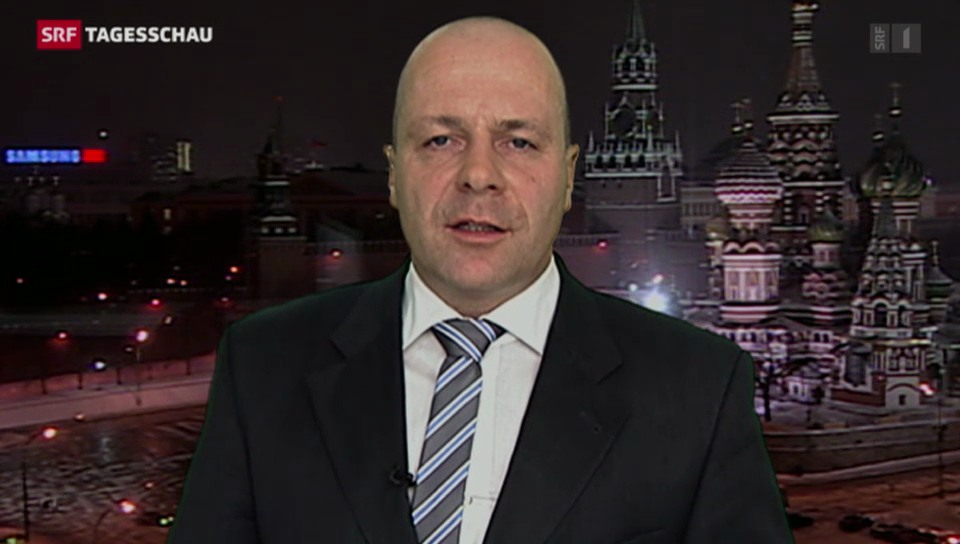 SRF-Korrespondent Christoph Wanner zur Ukraine-Krise
