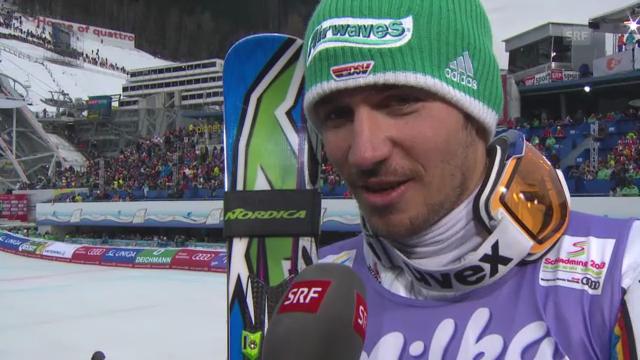 WM-Slalom: Interview Neureuther
