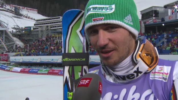 Video «WM-Slalom: Interview Neureuther» abspielen