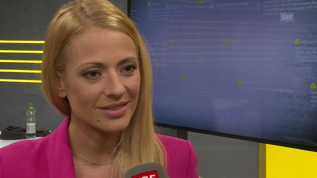 Christa Rigozzi über ihren neuen Moderationsjob