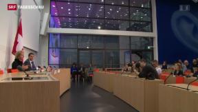Video «Die Schweiz und die EU verhandeln über Zinsbesteuerung» abspielen