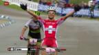 Video «Mountainbike: Frauen-Weltcup in Nove Mesto» abspielen