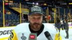 Video «Die Reaktionen der NHL-Schweizer nach dem Final» abspielen