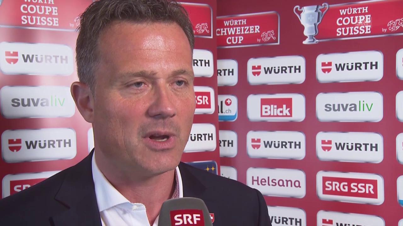 Fussball: Interview mit SFV-Generalsekretär Alex Miescher über die Vergabe der Cupfinals nach Zürich und Genf