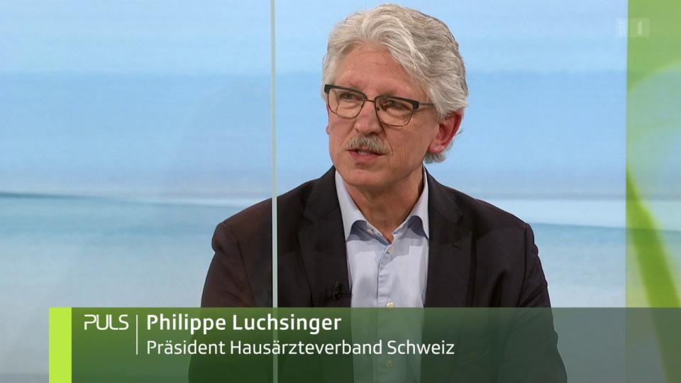 Studiogespräch mit Philippe Luchsinger zur mangelhaften Verschreibungspraxis von Opiaten in der Schweiz