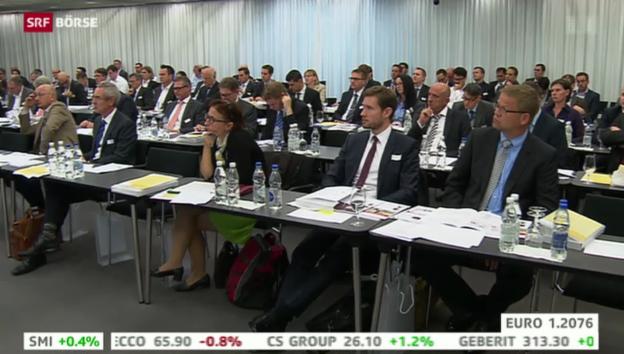 Video «SRF Börse vom 24.09.2014» abspielen