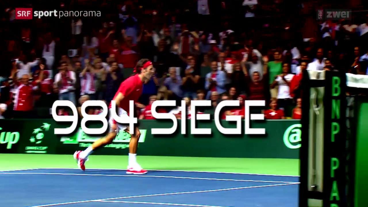 Tennis: Phänomen Roger Federer