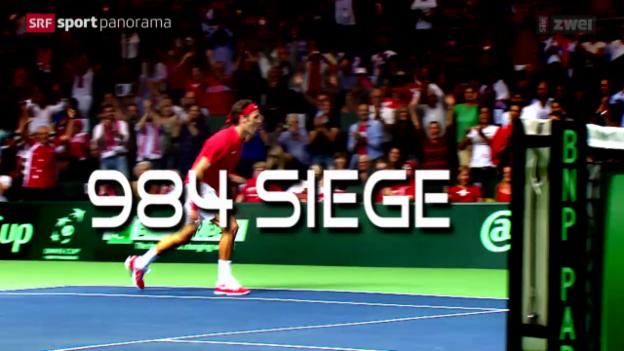 Video «Tennis: Phänomen Roger Federer» abspielen