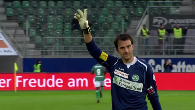 Fussball: St.Gallen - Sion