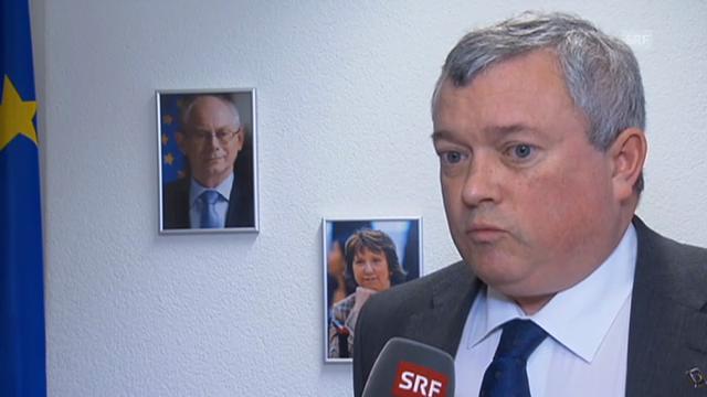 EU-Botschafter Richard Jones (Vorausschnitt Rundschau)