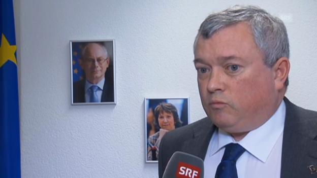 Video «EU-Botschafter Richard Jones (Vorausschnitt Rundschau)» abspielen