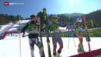 Video «Ski alpin: Riesenslalom der Männer in Kranjska Gora» abspielen