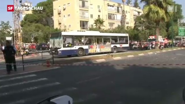 Video «Hoffen auf Feuerpause im Gaza-Konflikt» abspielen